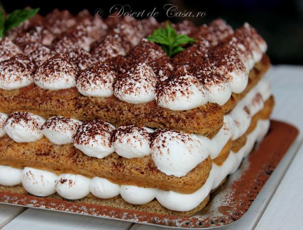 Retete prajituri desert de casa mara popa for Photos de tiramisu