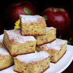 Prajitura cu iaurt si mere