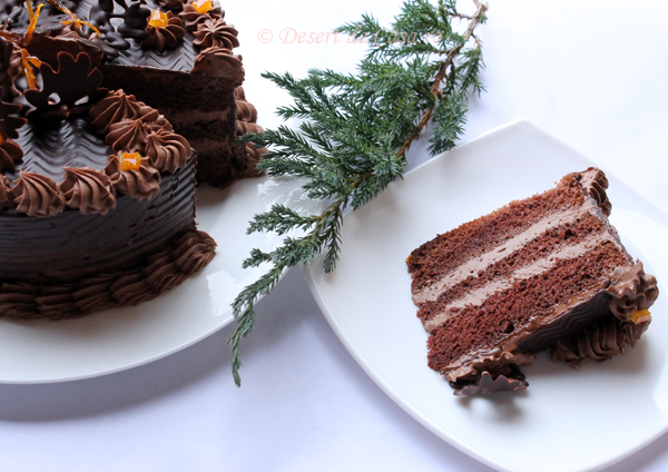 tort ciocolata sectiune