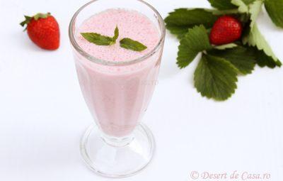 milkshake de capsuni 1