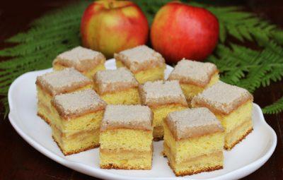 prajitura cu mere in imagini