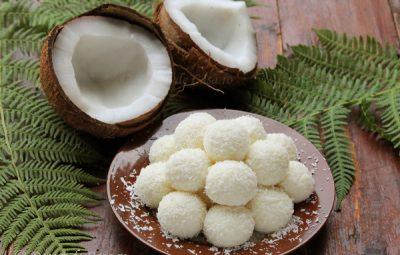 bomboane cu nuca de cocos