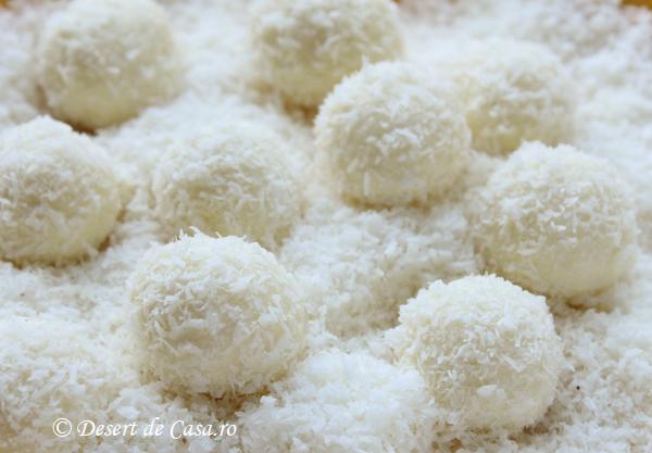 bomboane cu nuca de cocos Raffaello