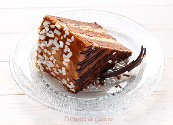 tort caramel imagine