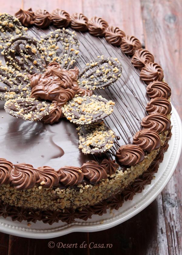 tort cu ciocolata reteta