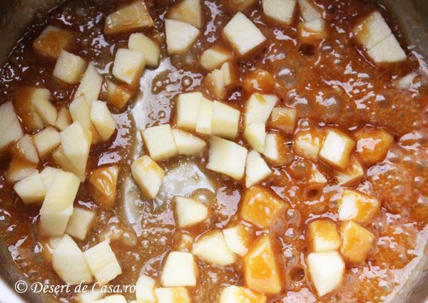 budinca de orez cu mere 2