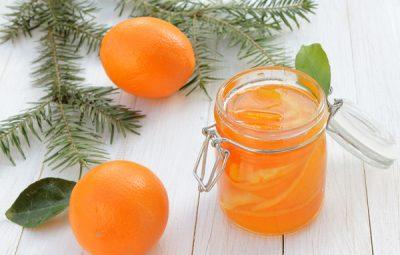 coji de portocale confiate