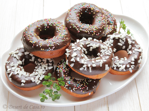 Gogosi cu ciocolata
