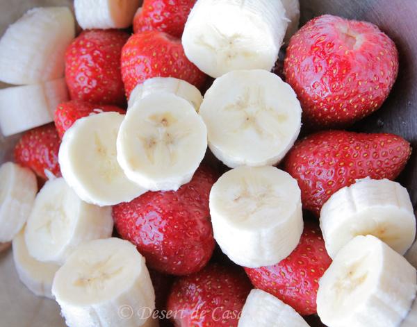 nectar de capsuni si banane 1