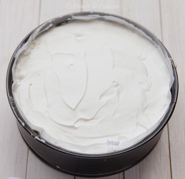 tort de inghetata cu cirese si ciocolata (6)