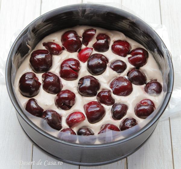 tort de inghetata cu cirese si ciocolata (8)
