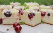 prajitura cu branza dulce si cirese (4)