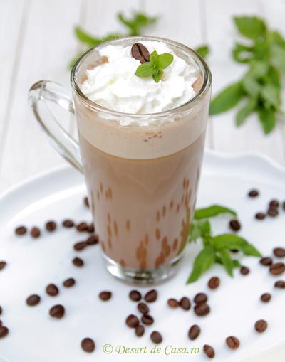 cafe frappe reteta in imagini