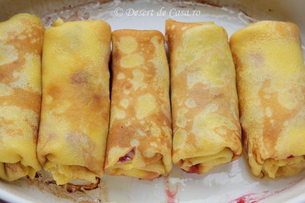 clatite cu branza dulce si zmeura (4)