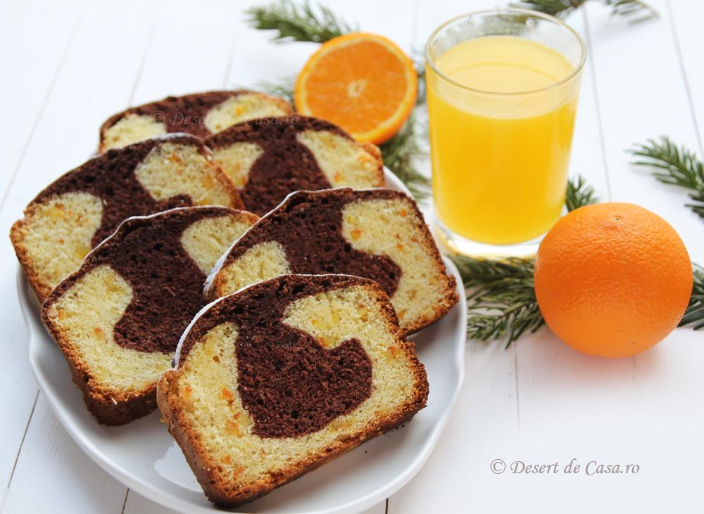 Chec pufos cu portocale