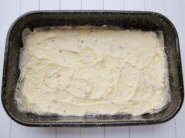 placinta cu branza dulce si stafide (4)