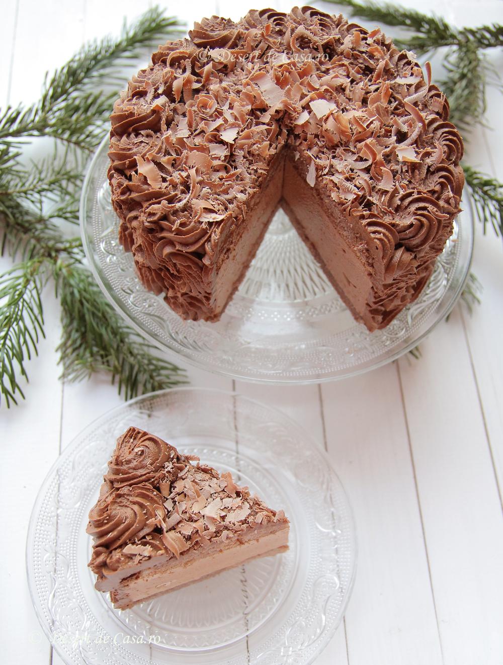 tort ciocolata foto