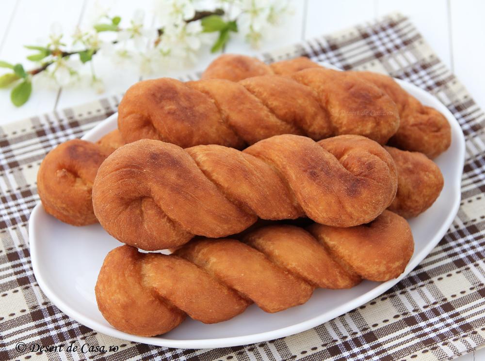 Gogosi cu rom (rasucite)