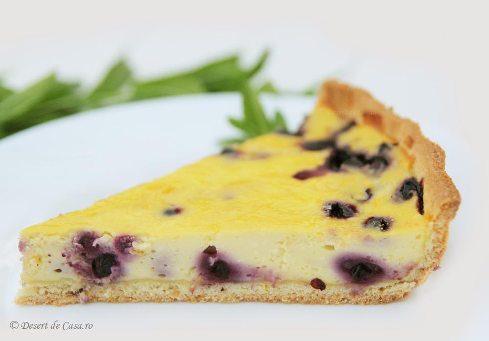 tarta cu branza dulce si afine (3)