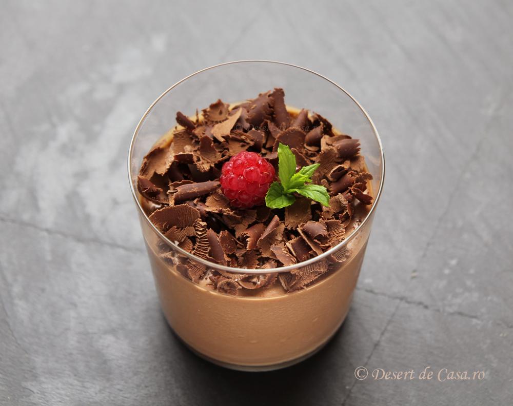 Mousse de ciocolata