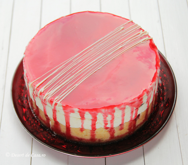 Tort cu zmeura si mousse de ciocolata alba reteta (1)