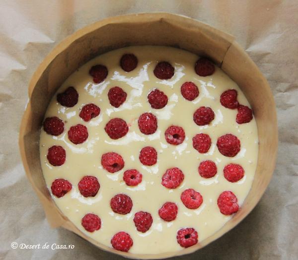 Tort cu zmeura si mousse de ciocolata alba reteta (2)