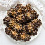 Fursecuri de post cu ciocolata si arahide