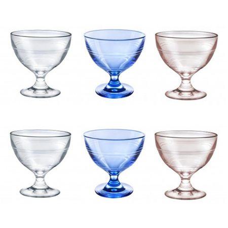 Set 6 Cupe desert inghetata Gigogne 25cl