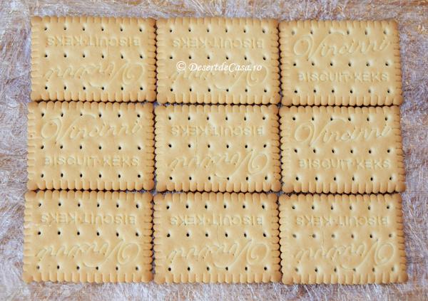 Prajitura cu biscuiti si banane (3)