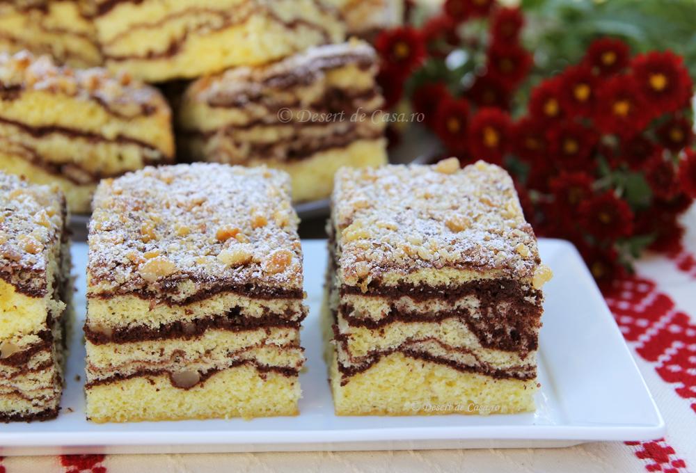 prajitura cu nuca si cacao (1)