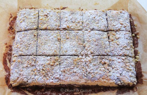 prajitura cu nuca si cacao (8)