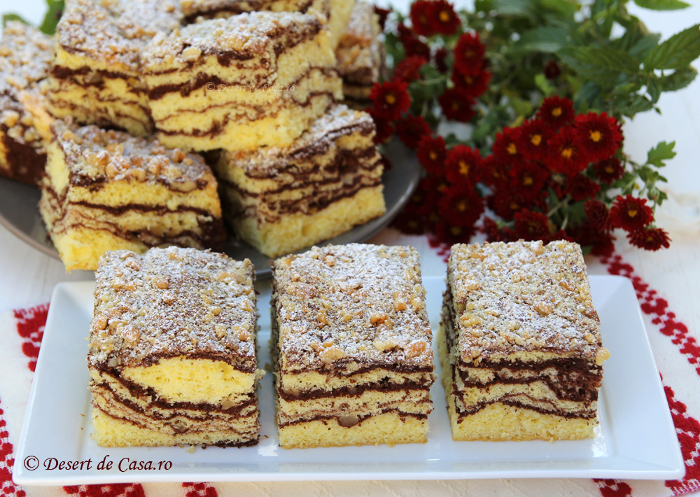 prajitura cu nuca si cacao (9)