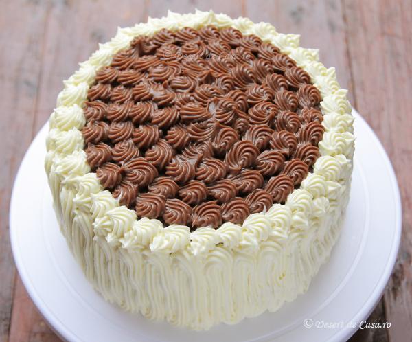 Tort cu crema de ciocolata (1)