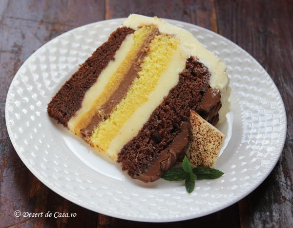 Tort cu crema de ciocolata (2)