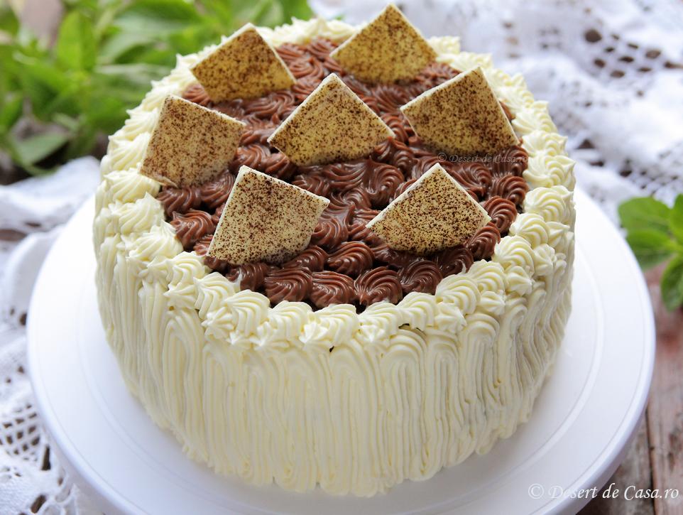 Tort cu crema de ciocolata (3)