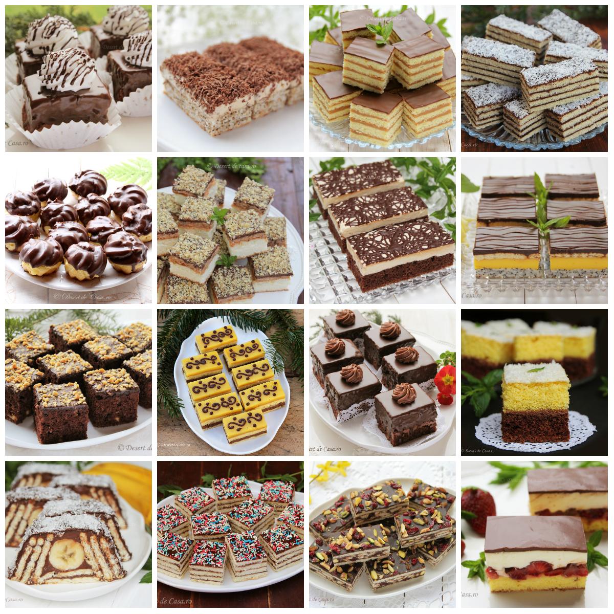 Prajituri de casa cu ciocolata