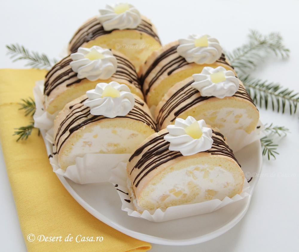 rulada cu ananas (2)