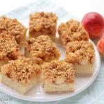 Prajitura cu mere si musli crunch