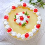 Prajitura cu iaurt si ananas ( fara coacere)
