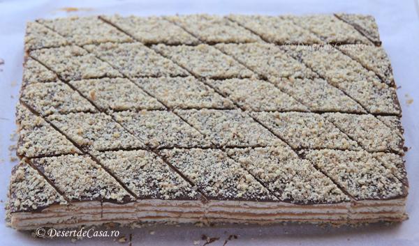 Prajitura cu nuca si caramel (9)