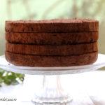 Blat de tort cu ciocolata