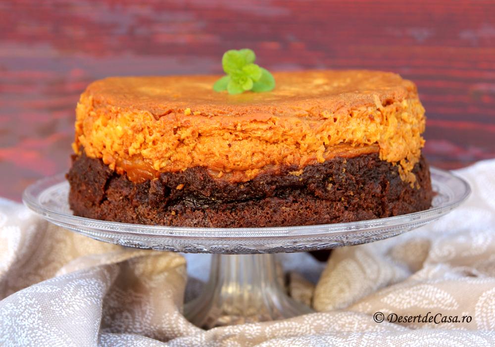 tort cu mere si crema de zahar ars (2)