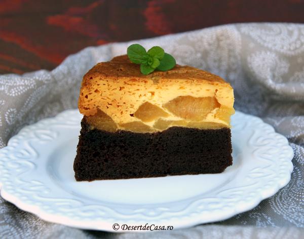 tort cu mere si crema de zahar ars (4)