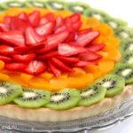 Tarta de post cu fructe